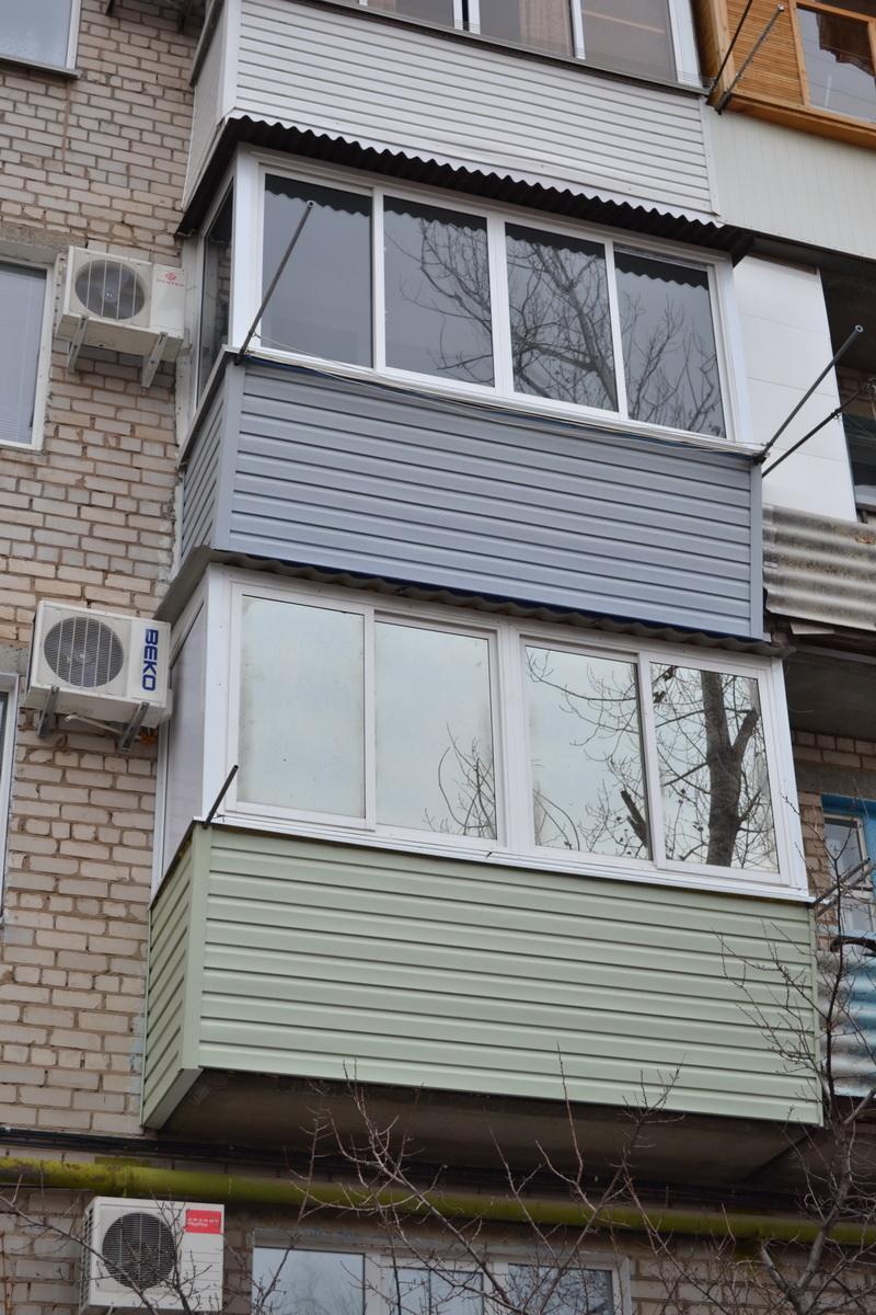 Остекление и утепление балконов и лоджий в волжском пластико.